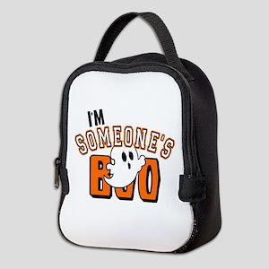 Im Someones Boo Ghost Halloween Neoprene Lunch Bag