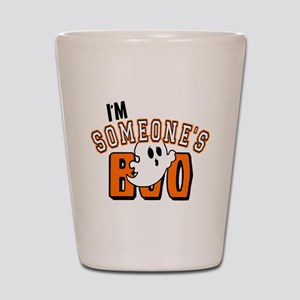 Im Someones Boo Ghost Halloween Shot Glass