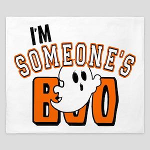 Im Someones Boo Ghost Halloween King Duvet