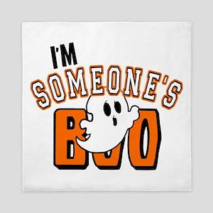 Im Someones Boo Ghost Halloween Queen Duvet