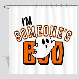 Im Someones Boo Ghost Halloween Shower Curtain