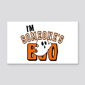 Im Someones Boo Ghost Halloween Rectangle Car Magn
