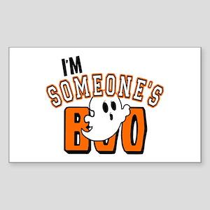 Im Someones Boo Ghost Halloween Sticker