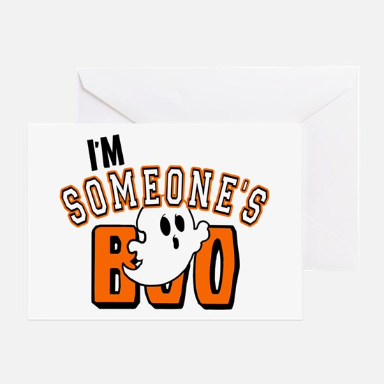 Im Someones Boo Ghost Halloween Greeting Cards