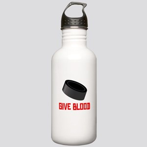 Hockey Give Blood Sports Water Bottle