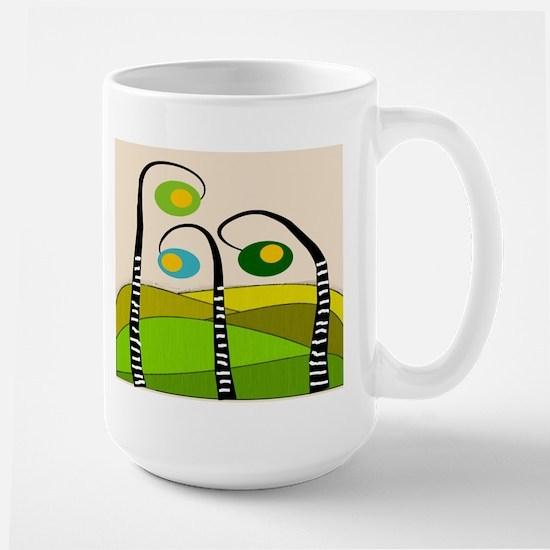Whimsical Funky Large Mug