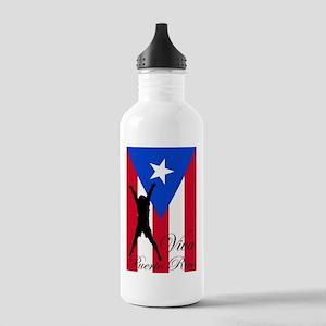 Viva Puerto Rico Stainless Water Bottle 1.0L