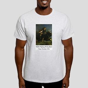 Nott Riding Hrimfaxi Ash Grey T-Shirt