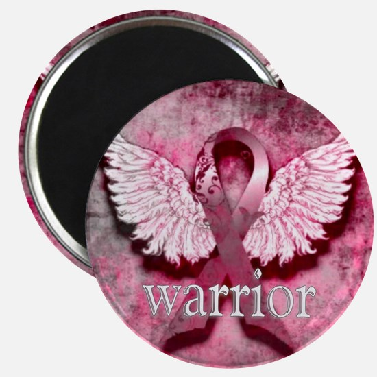 Pink Ribbon Warrior By Vetro Designs Magnet