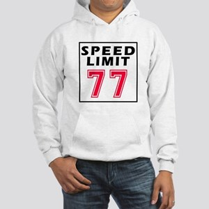 Speed Limit 77 Hooded Sweatshirt