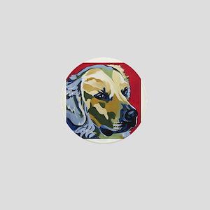 Golden Retriever - James Mini Button