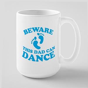 BEWARE this dad can dance Mugs