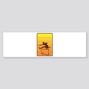 Hurdle Bumper Sticker