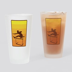 Hurdle Drinking Glass