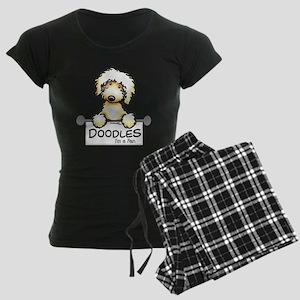 Labradoodle Fan Women's Dark Pajamas