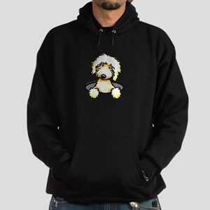 Peeking Golden Doodle Hoodie (dark)