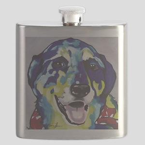 Blue Healer Flask