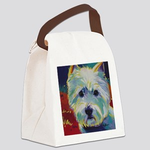 Cairn Terrier - Buddy Canvas Lunch Bag