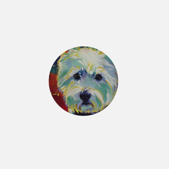 Cairn Terrier - Buddy Mini Button