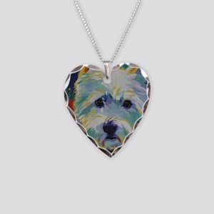 Cairn Terrier - Buddy Necklace Heart Charm