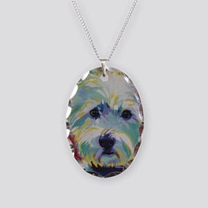 Cairn Terrier - Buddy Necklace Oval Charm