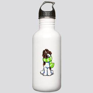 Labradoodle Scarf Stainless Water Bottle 1.0L