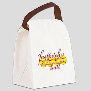 fastpitch softball original fashion Canvas Lunch B