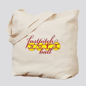 fastpitch softball original fashion Tote Bag
