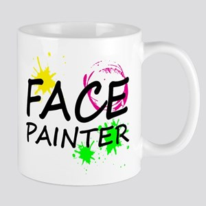 Face Painter logo Mugs
