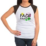 Face painter Women's Cap Sleeve T-Shirt
