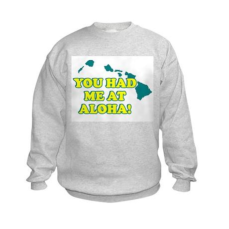 HAWAII T-SHIRT, HAWAII SHIRT Kids Sweatshirt