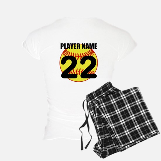 Personalized Softball Mom Pajamas