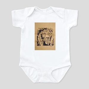 Wood Lion Infant Bodysuit