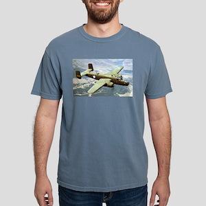 B-25 In Flight Ash Grey T-Shirt