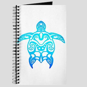 Ocean Blue Tribal Turtle Journal