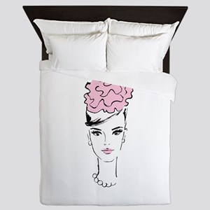 Romantic In Pink Queen Duvet