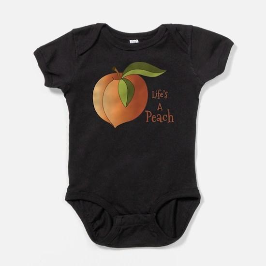 Lifes A Peach Body Suit