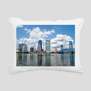 Jacksonville, Florida ci Rectangular Canvas Pillow