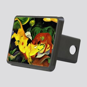 Franz Marc: Cows-Yellow, R Rectangular Hitch Cover
