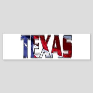 Patriotic Texas Bumper Sticker