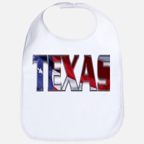Patriotic Texas Bib