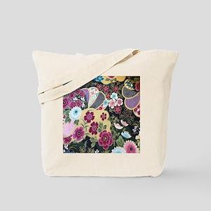 floral japanese textile Tote Bag