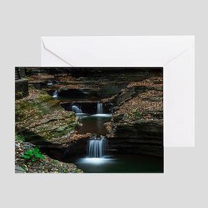 Watkins Glen Greeting Card