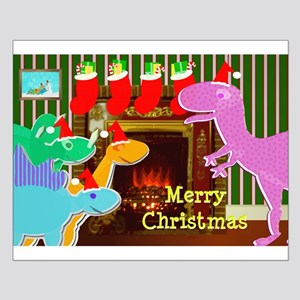 Cute Dinosaurs Fireplace Posters
