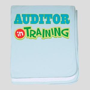 Auditor In Training baby blanket