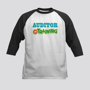 Auditor In Training Kids Baseball Jersey