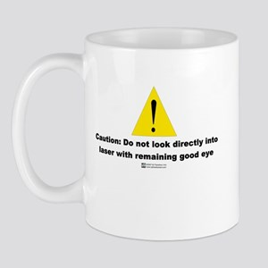 Laser Vision -  Mug