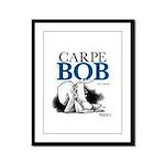 Carpe Bob Framed Panel Print