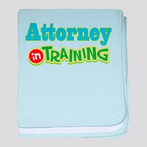Attorney In Training baby blanket