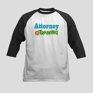 Attorney In Training Kids Baseball Jersey